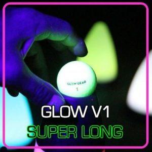 Glow V1 - Single ball - best hitting night golf ball