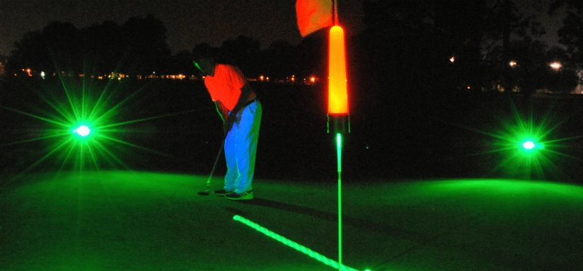 Glow V1 NIGHT GOLF BALL – 6 Ball Pack with UV Flashlight 5