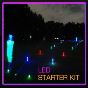 Night Golf 1 Hole Package LED Event Kit 1