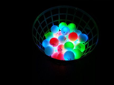 NIght Eagle CV LED Golf Ball – Assorted colors – pack of 6 4