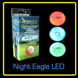 Night Eagle CV LED Golf Ball - 3 pack