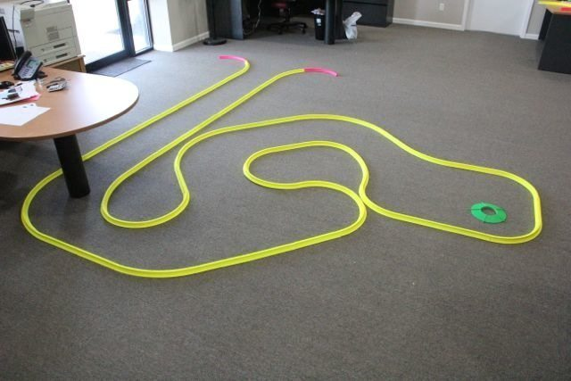 OFFICE GOLF – 1 hole putting track kit 10