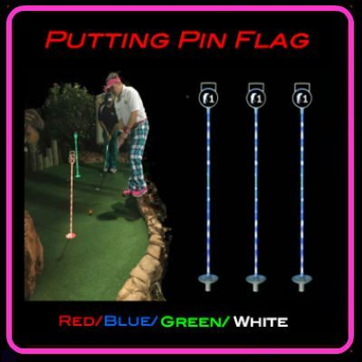 GLOWGEAR Cosmic Mini Golf - 1 Hole event kit
