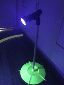 GLOWGEAR Cosmic Mini Golf – 1 Hole event kit 6