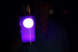 GLOW BALL CHARGER LIGHT